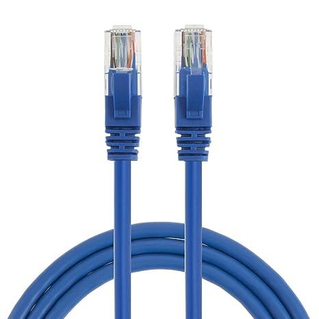 RJ45 Cat-5E Ethernet Patch Cable metal connectors 35FT// 10.7M