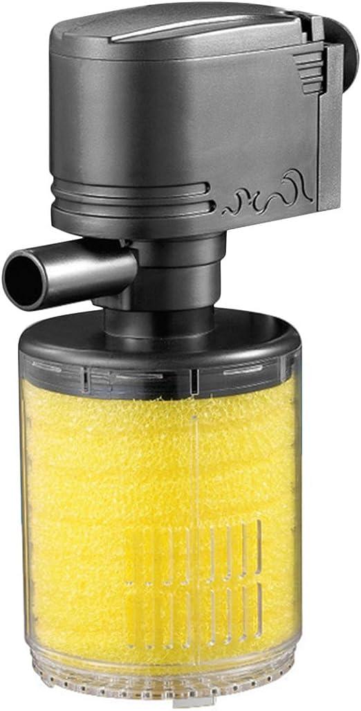 Rouku Mini Filtro de Acuario 3 en 1 Pecera Bomba de oxigenación ...
