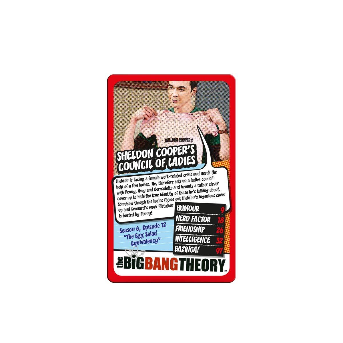 Winning Moves Top Trumps The Big Bang Theory Kartenspiel