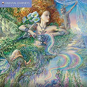celestial journeys by josephine wall 2017 wall calendar office products. Black Bedroom Furniture Sets. Home Design Ideas