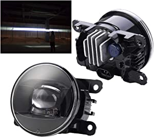 New generation led fog lights lamp Retrofit and upgraded For Land Rover Range Freelander 2 4 LR2 LR4 Discovery 4 Sport JAGUAR S-TYPE X-TYPE XK 2003 2004 2005 2006 2007 2008 2009 2010 2011 2012 2013