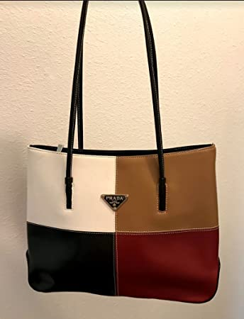 a7a839f6f692 Image Unavailable. Image not available for. Color  Original Prada Leather  Purse