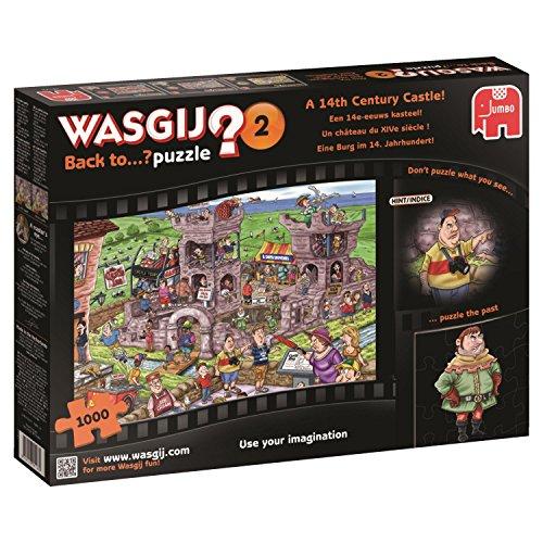 JUMBO 619123 - Puzzle - Wasgij - Back To Un Château Du Xive siècle - 1000 Pièces