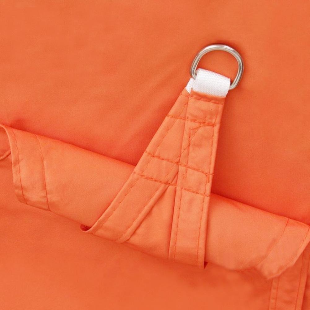 sac dopp Jardin cour parasol toile exportation qualit/é polyester tissu imperm/éable /à leau parasol toile triangle voile m/étal boucle