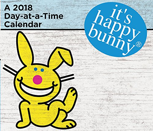 It's Happy Bunny 2018 Day-at-a-Time Box Calendar