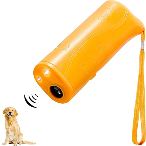 Inoosky Anti Barking Handheld 3 in 1 Pet LED Ultrasonic Dog Trainer Device