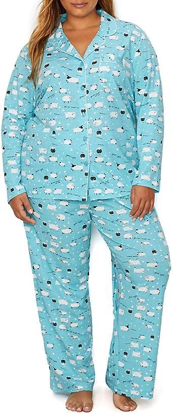 Karen Neuburger Womens Long-Sleeve Girlfriend Pajama Set Pj