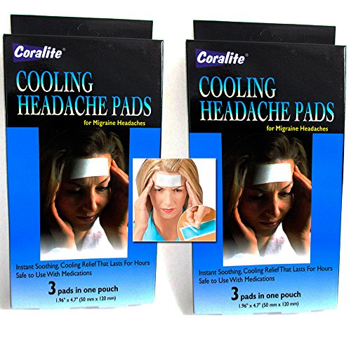 Cooling Migraine Headache Soothing Coralite