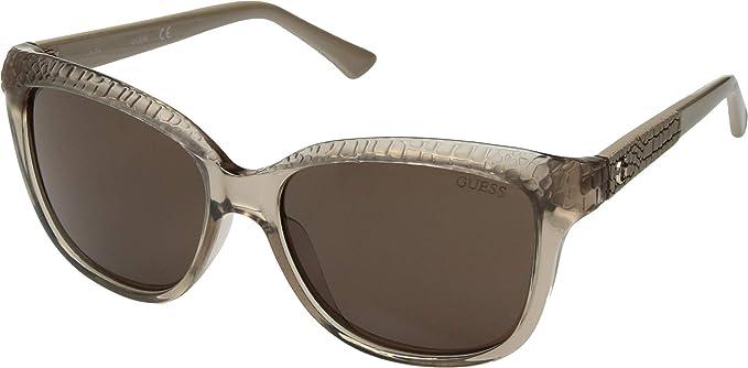 Amazon.com: anteojos de sol Guess GU 7401 GU7401 57E: Clothing