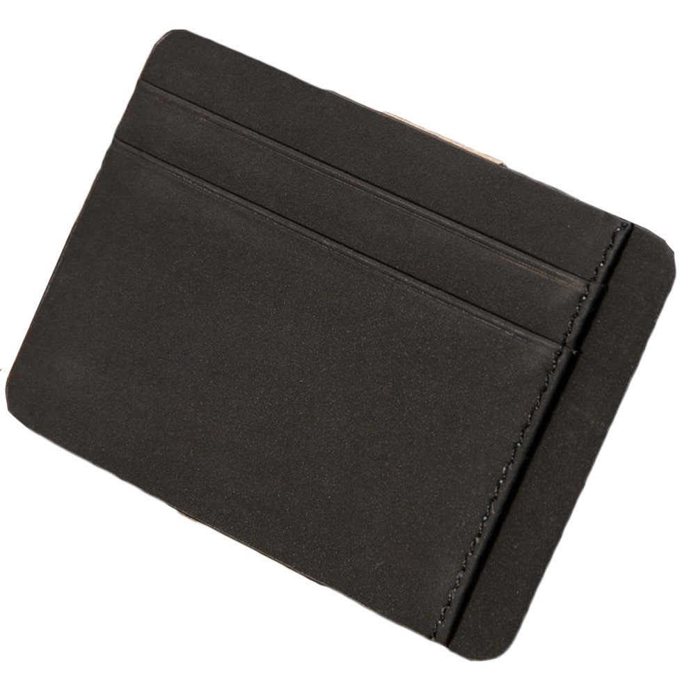RAIEND Mens Bifold Business Leather Zipper Wallet ID Ultrathin Credit Card Wallet