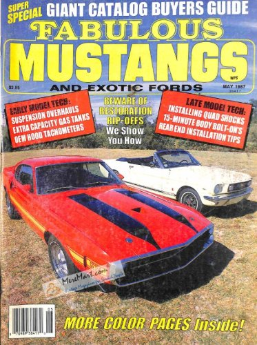 Fabulous Mustangs and Exotic Fords Magazine, May 1987 ()