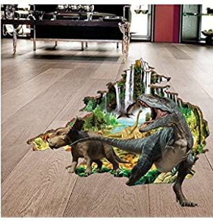 Amazoncom D Wall Sticker Surper D Dinosaur Wall Stickers Art - 3d dinosaur wall decals