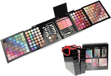 JasCherry Paleta de Sombras de Ojos 177 Colores de Estuche de Maquillaje Cosmético - Incluye Corrector Camuflaje y Polvo de Cejas y Rubor y Brillo Labios #2: Amazon.es: Belleza