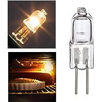 S/V Halogeenlamp G4 Oven Lamp Ovenlamp 12V 20W Oven Gloeilampen 500°C Hittetolerantie Gloeilampen voor oven en magnetron…