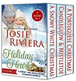 Holiday Hearts: A Sweet and Wholesome Romance Bundle:: Volume 1