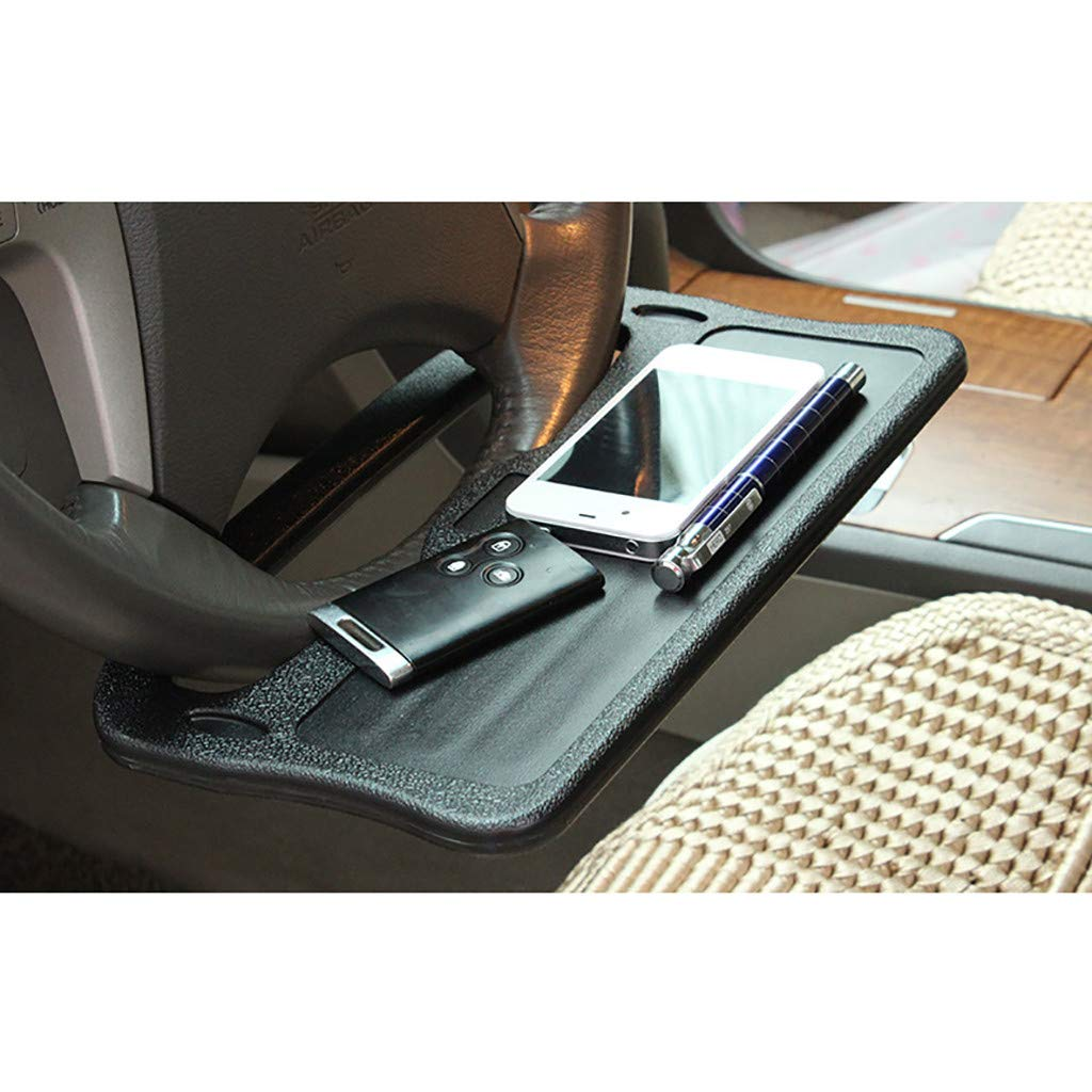 Wanzi2 Car Interior Multi-Function Steering Wheel Card Table Car with Small Computer,Food Eating Tray