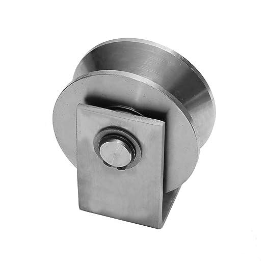 Hochlast Torrolle Laufrolle in 10 Gr/ö/ßen Schiebetor Rollt/ür Rolltor Hohlkehle Schiebet/ür 85mm