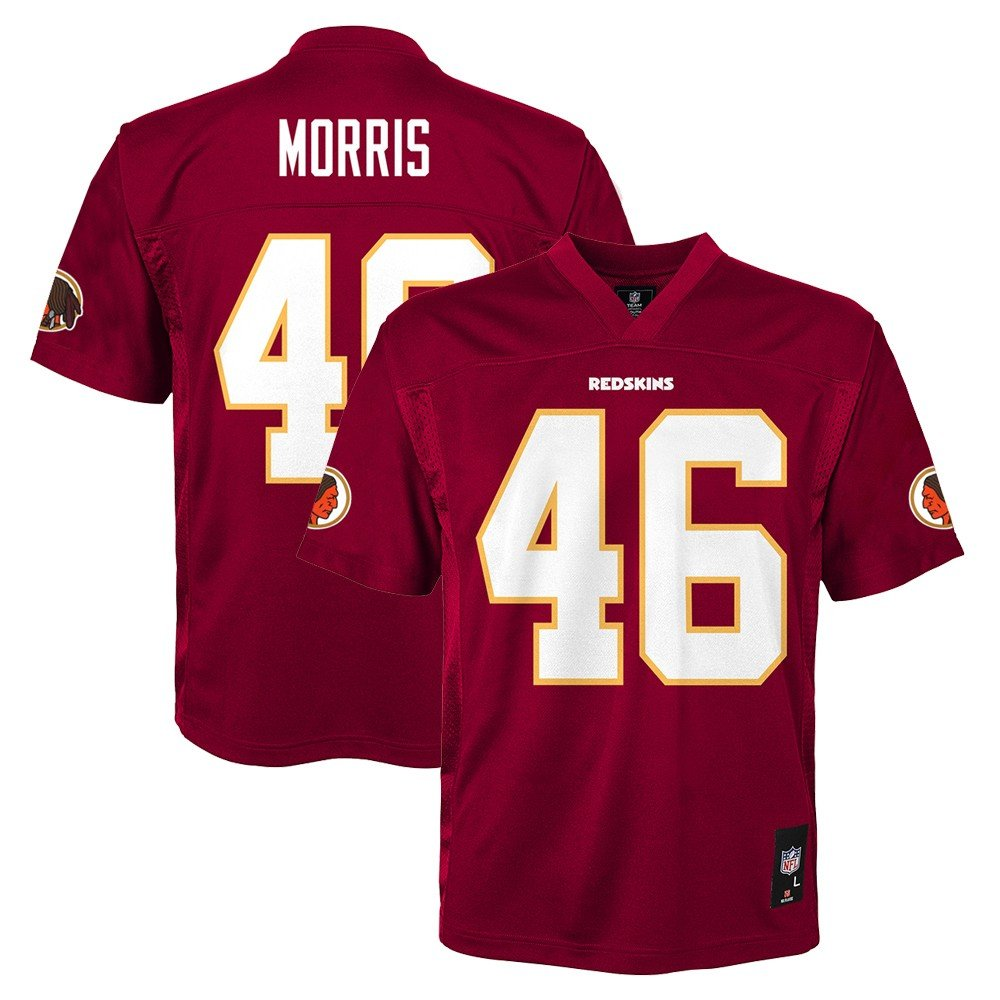 c77777312b6bc Amazon.com : Outerstuff Alfred Morris NFL Washington Redskins Mid Tier Home  Maroon Jersey Youth (S-XL) : Sports & Outdoors