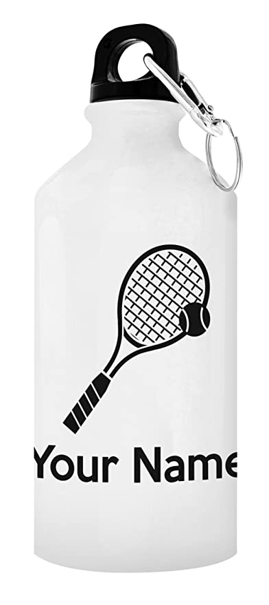 Image Unavailable  sc 1 st  Amazon.com & Amazon.com: Customized Tennis Equipment Customized Tennis Water ...