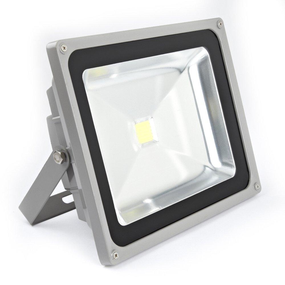 Biard Foco Proyector 50W LED para Exterior - Equivalente a 400W ...