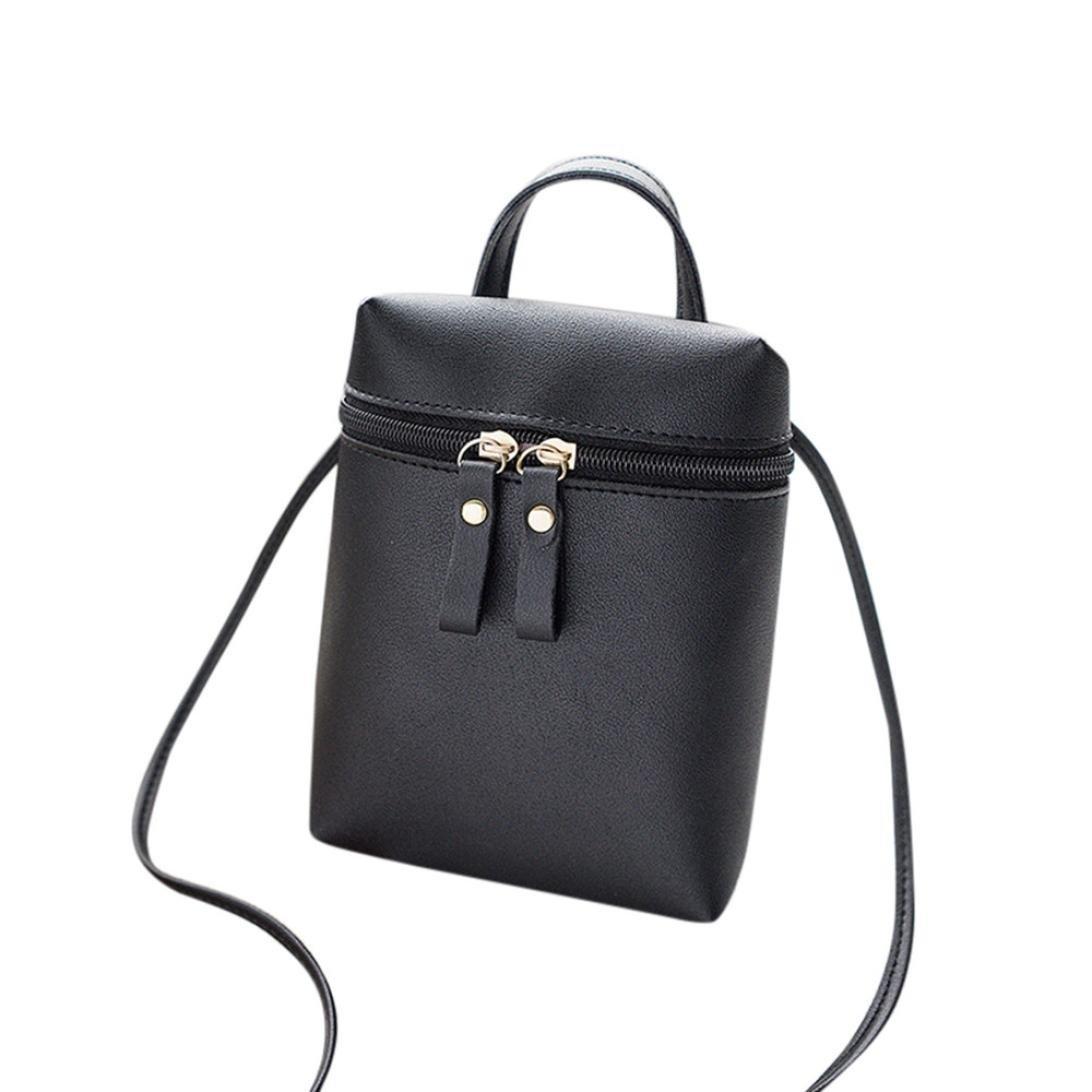 Pocciol HOT Women Versatile Convenient Crossbody Bag Messenger Fashion Handbag Shoulder Bag (Black) by Pocciol (Image #1)