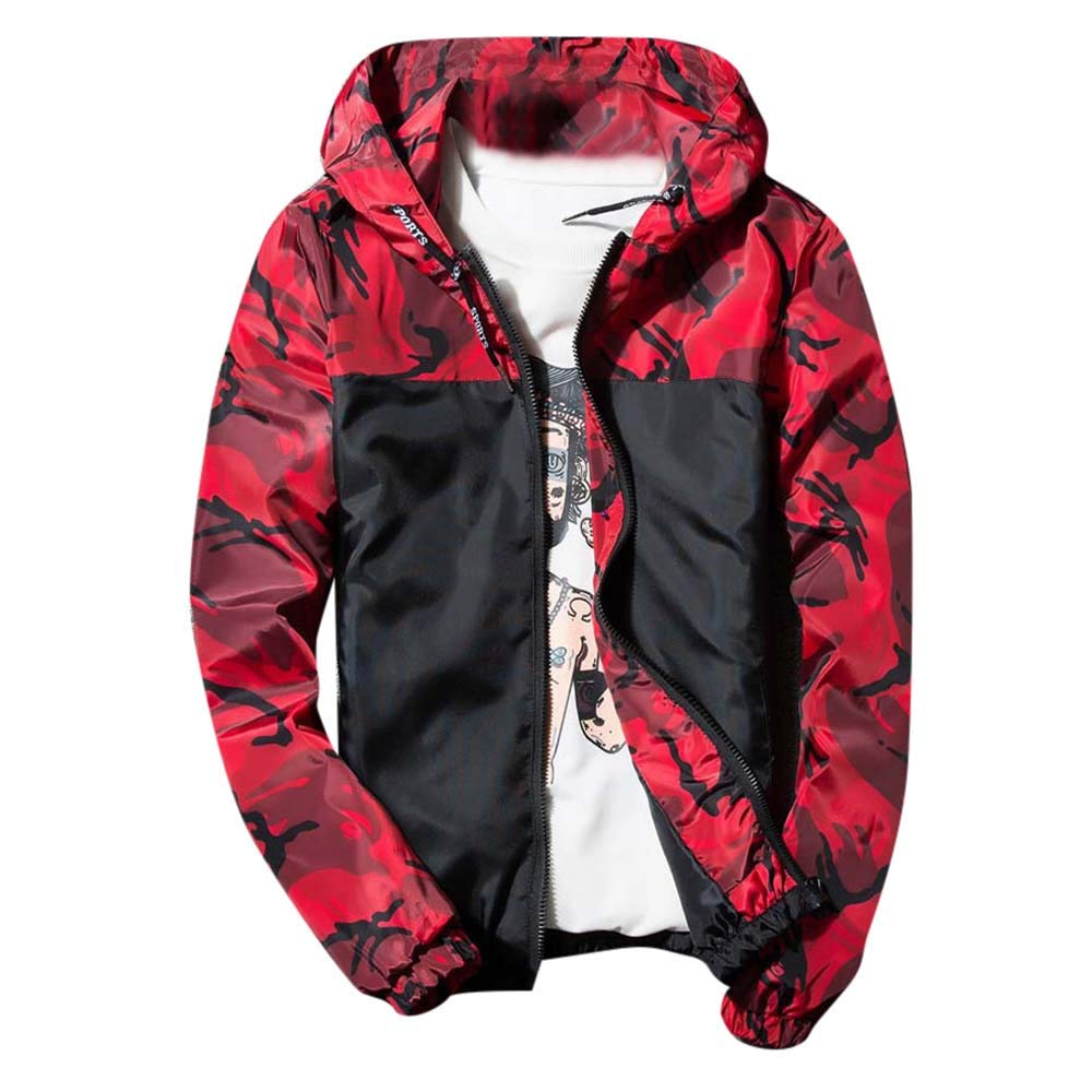 AKIMPE OUTERWEAR メンズ US S/CN XL(Fit35\ レッド B07KJXPPGS