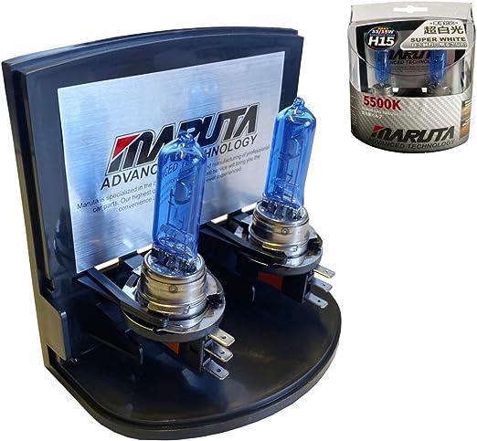 Mtec H15 55 15 W Hochleistungs Leuchtmittel Sußerweiß Mit Xenon Effekt Aus Echtglas Auto
