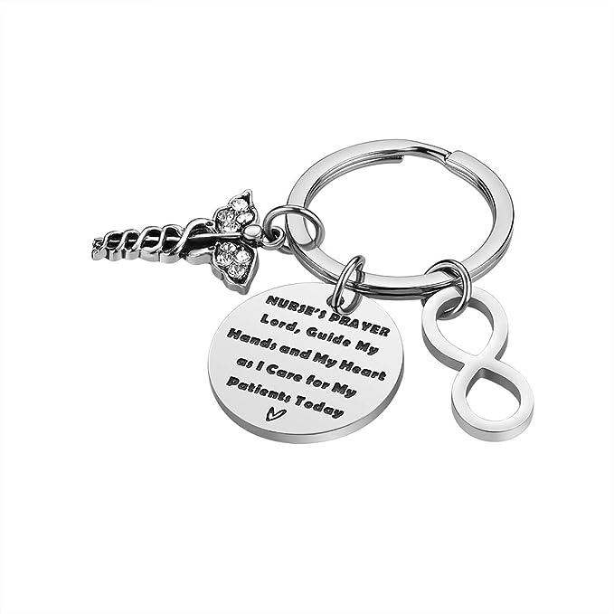 Amazon.com: Llavero para enfermera, regalo perfecto para ...