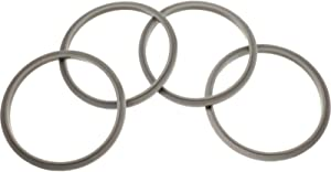 4 Pieces Gaskets with Lip for Blender Gasket Replacement Parts for 600W 900W Extractor or for Flat Milling Blades NB-101