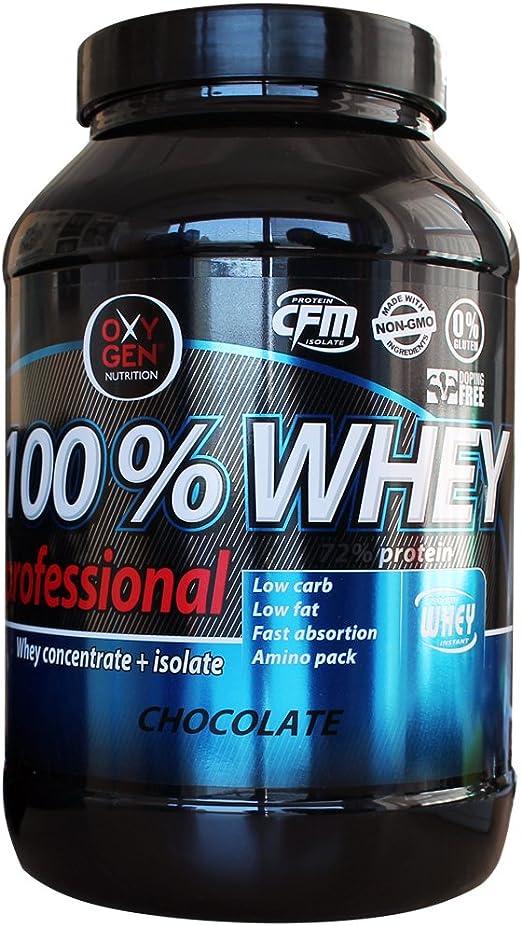 OXYGEN 100% WHEY PROFESSIONAL 1 KG Cioccolato ...