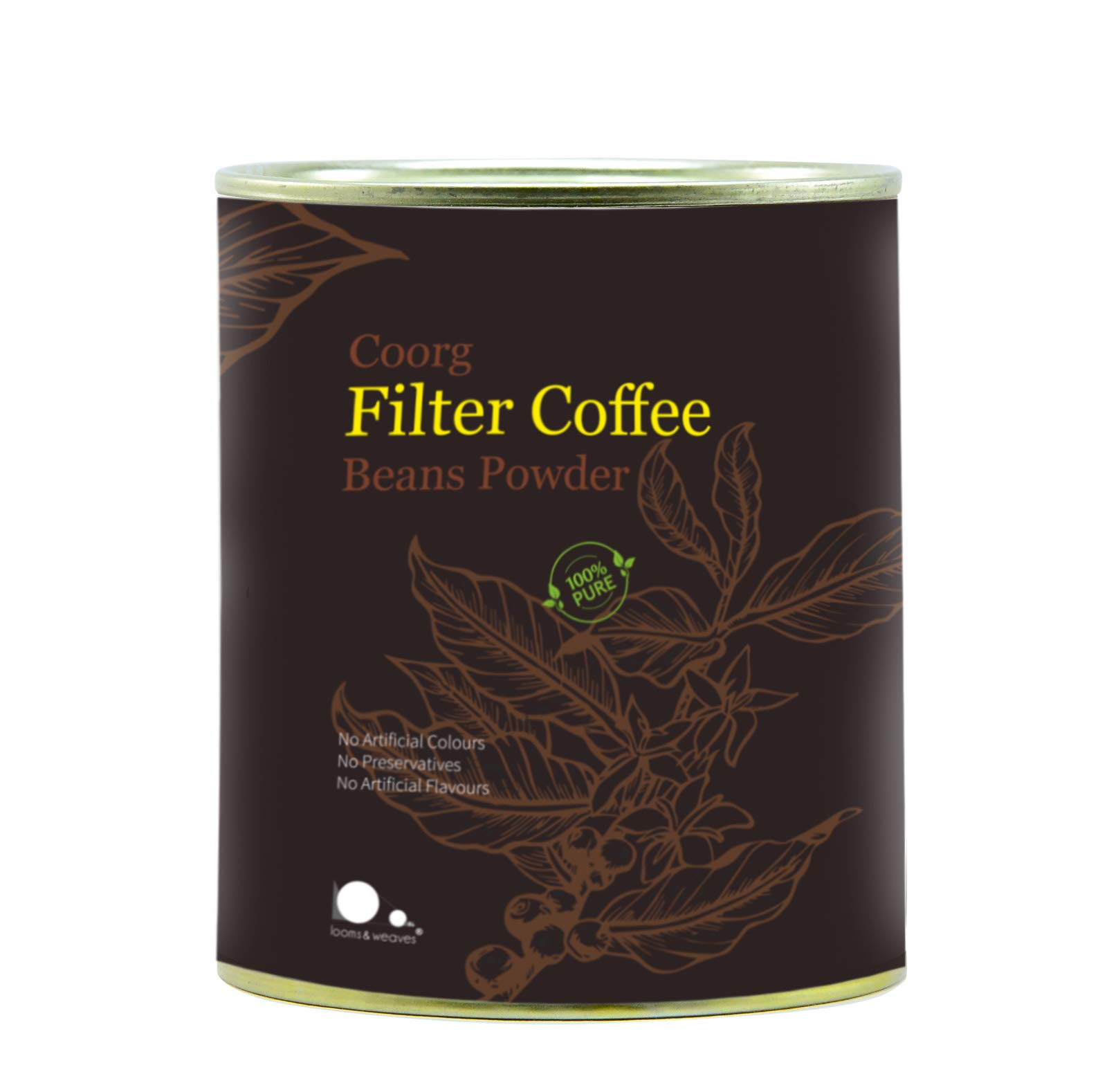 looms & weaves - Special Coorg Filter Coffee Beans Powder - 200 gm (B07VS2KCLF) Amazon Price History, Amazon Price Tracker