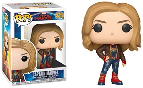 46cbf241 Image Unavailable. Image not available for. Color: POP! Funko Captain Marvel  Exclusive