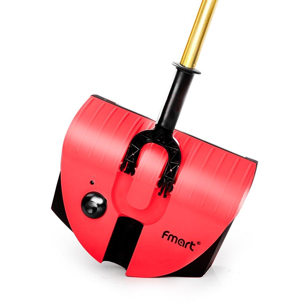 Fmart mano spazzatrice elettrico Scopa Senza Filo 2 in 1 Swivel Pulitore Drag Sweeping Aspirapolvere senza fili FM 007 giallo FM-007-EU