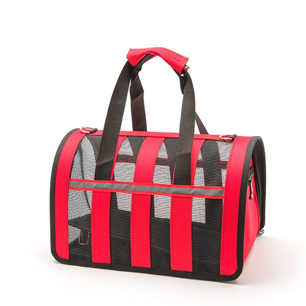 FDBF Small Pet Dog out Bag Portable Adjustable Handbags Breathable Handbag 1#