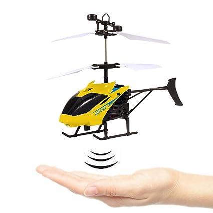 Teepao RC Flying bola, infrarrojos inducción volando juguetes con colorido brillante LED luces Sensor de