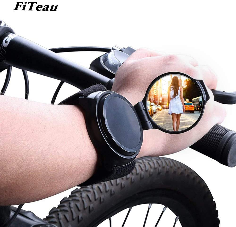 FiTeau Cycling Wrist Band Rear View Mirror
