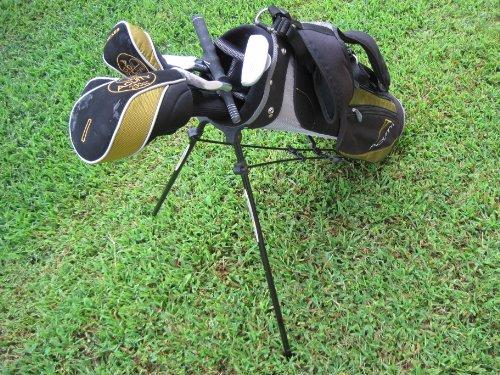 Acuity Cadet Pro ll, Junior Golf Club Set, 3 Woods, 3 Irons, Putter, Bag & Grip Correction