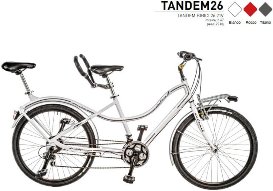 Bicicleta de paseo Tandem 26 allumini 21 V Modelo tandem26 Made in ...