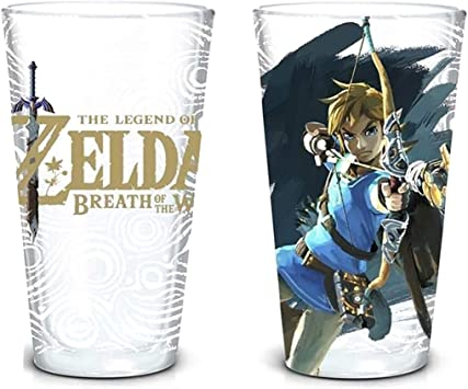 Set de vasos the legeng of zelda Breath of the wild de 473ml: Amazon.es: Juguetes y juegos