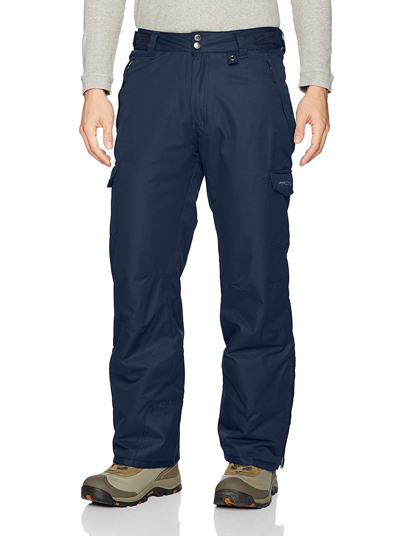 Arctix Men's Snow Sports Cargo Pant Tall 30'', Bluenight Navy, Med (32-34W 30L) by Arctix
