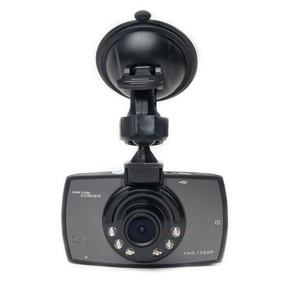 Cikuso DVRs de Coches de Pantalla de 2,4 LCD 1080p Grado 120 de Ancho de Angulo de Vision de Noche del vehiculo grabadora de Camara Video Dash CAM G-Sensor HDMI