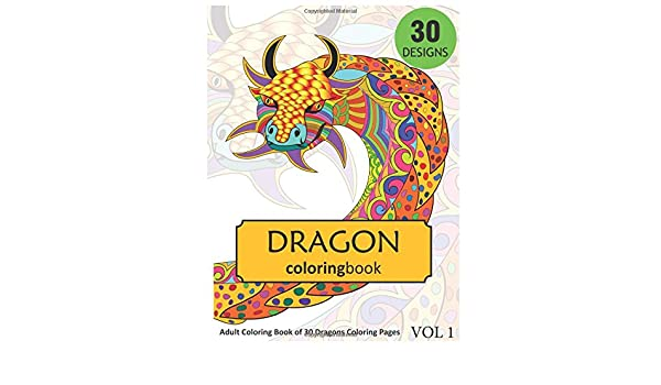 Free Printable Coloring Pages For Adults Advanced Dragons ... | 350x600