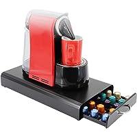 Nespresso Originalline Coffee Capsule Pod Holder, Capsule holder drawer pod storage with drawer handle, Hold up to 50…
