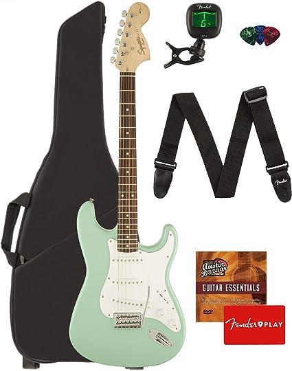 Fender Squier Affinity Series Stratocaster - Juego de guitarra ...