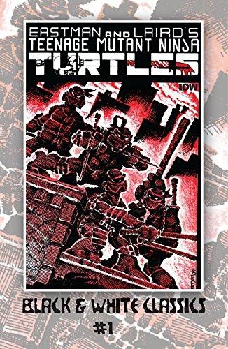 ninja turtles black white - 4