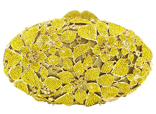 Main gold Sac Bandouliere Bourse Sac pour à Fête Soirée Femme Maquillage Bal Chaîne Clutch Pochette Mariage wqz51Zq
