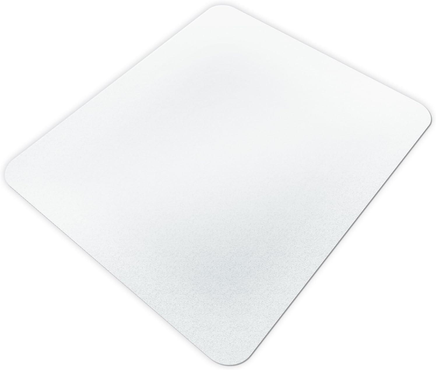 weitere Gr/ö/ßen mit und ohne Lippe w/ählbar extra transparent und rutschfest optimales Gleitverhalten f/ür Stuhlrollen etm/® Bodenschutzmatte 120x200 cm Hartboden