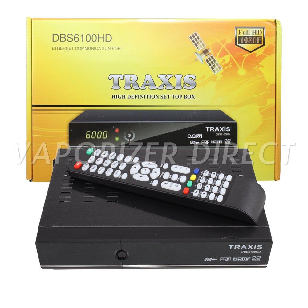 Traxis DBS6100HD FTA Satellite Receiver True Free-to-Air High Definition Set Top Box