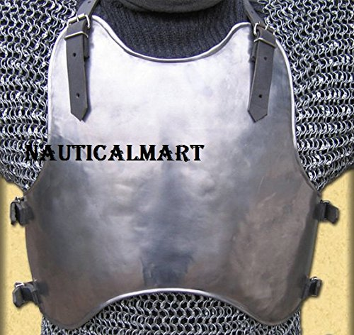 (NauticalMart Medieval Knight Steel Breastplate - Armor Costume)