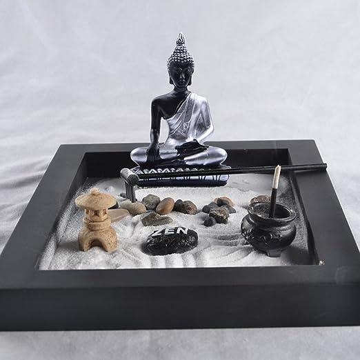 petsola Karensansui - Pérgola Zen para jardín sobre Bandeja de ...